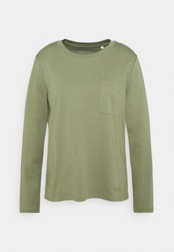 Marc O'Polo - LONG SLEEVE ROUND NECK - Langarmshirt - dried sage