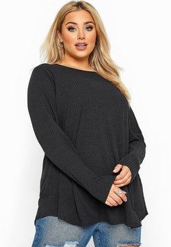 Yours Clothing - Langarmshirt - black