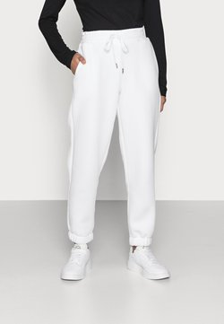 Noisy May Petite - NMPERCY PANT - Jogginghose - bright white