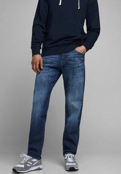 Jack & Jones - REGULAR FIT JEANS CLARK ICON JJ 254 - Jeans Straight Leg - blue denim