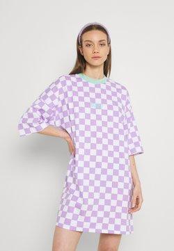 The Ragged Priest - STOKED DRESS - Jerseykleid - purple/white