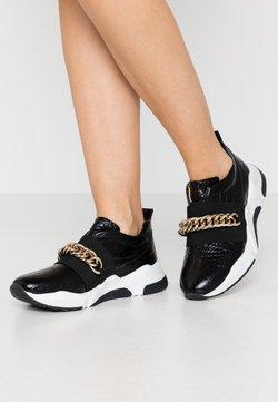 Billi Bi - Loafers - black louisiana/gold