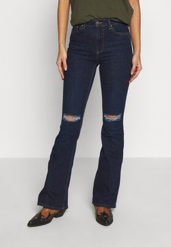 Trendyol - TWOSS LACIVERT - Bootcut jeans - navy