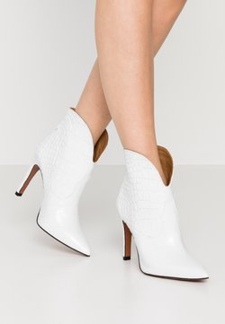 Toral - High Heel Stiefelette - blanco