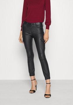 ONLY - ONLMISSOURI COATED  - Spodnie materiałowe - black