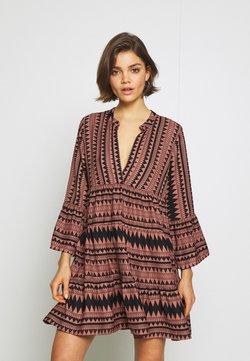 ONLY - ONLNAYA ATHENA DRESS - Vestido informal - black/burlwood