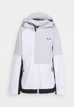 Oakley - CAMELLIA SHELL JACKET - Laskettelutakki - white/grey