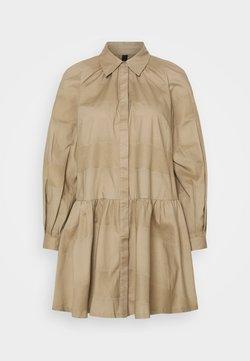 YAS Petite - YASSCORPIO SHIRT DRESS ICON - Vestido camisero - chinchilla