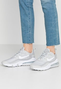 Nike Sportswear - AIR MAX 270 REACT - Sneakers laag - grey fog/white/light smoke grey