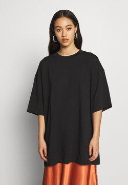 Weekday - BLISS  - T-shirt z nadrukiem - black