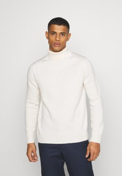 ARKET - TURTLENECK JUMPER - Strickpullover - white dusty