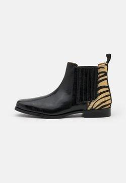 Melvin & Hamilton - BELLA  - Ankle Boot - palermo/black/white/rich tan