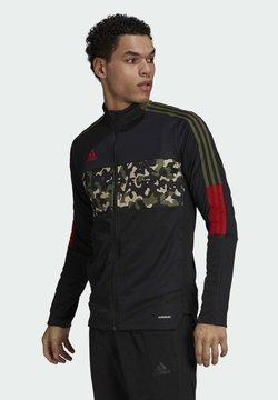 adidas Performance - TIRO TK JKT AOP - Training jacket - black