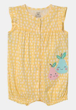 Carter's - SUR DOT - Overall / Jumpsuit - yellow