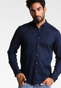 TOM TAILOR DENIM - Chemise - black iris blue