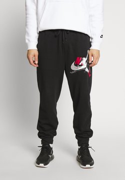 Jordan - M J JUMPMAN CLSCS LTWT PANT - Jogginghose - black/gym red/white