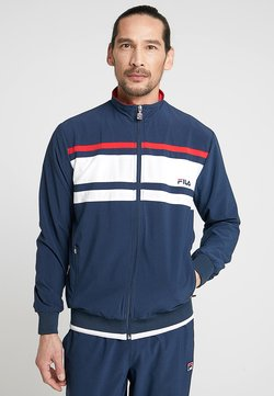 Fila - SUIT THEO - Träningsset - peacoat blue/white/red