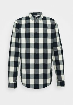 Scotch & Soda - REGULAR FIT- CLASSIC CHECK  - Vapaa-ajan kauluspaita - black,white
