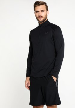 Under Armour - Funktionsshirt - black/charcoal