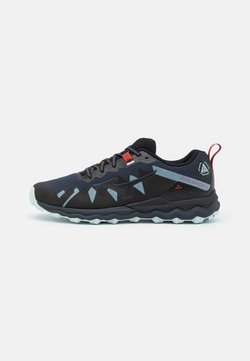 Mizuno - WAVE DAICHI 6 - Zapatillas de trail running - india ink/black/ignition red