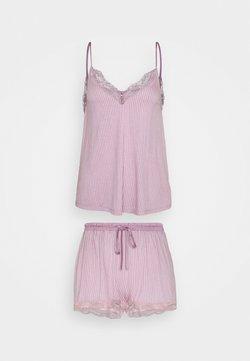 Women Secret - STRAPS SHORT PANT SOFT TOUCH - Pyjama - pinks