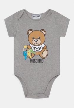 MOSCHINO - BODYSUIT UNISEX - Geschenk zur Geburt - grey melange