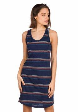 Kazane - INGRID - Jerseykleid - blue/stripe