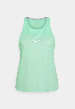Nike Performance - RUN MILER TANK  - Débardeur - green glow/reflective silver