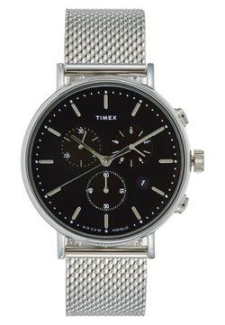 Timex - THE FAIRFIELD CHRONOGRAPH 41 mm MESH - Montre à aiguilles - silver-coloured
