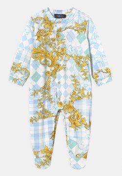 Versace - ARGYLE - Pijama de bebé - azzurro/oro