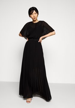 KARL LAGERFELD - PLEATED MAXI DRESS - Ballkleid - black
