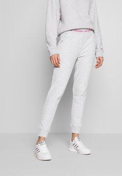 Tommy Jeans - BRANDED WAISTBAND PANT - Jogginghose - pale grey heather