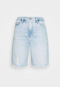 Good American - GOOD BERMUDA - Shorts di jeans - blue