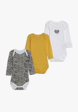 Name it - NBFBODY ANIMAL 3 PACK  - Pyjama - golden rod