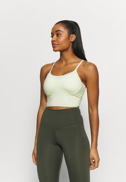 Cotton On Body - STRIKE A POSE YOGA VESTLETTE - Sport-BH mit leichter Stützkraft - lemonade