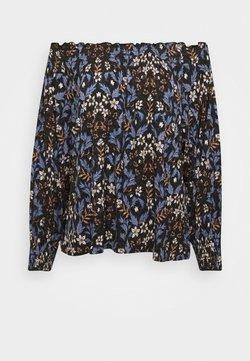 Lindex - DAISY - Langarmshirt - off black