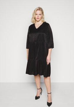 ONLY Carmakoma - CARTALIA DRESS - Cocktailkleid/festliches Kleid - black