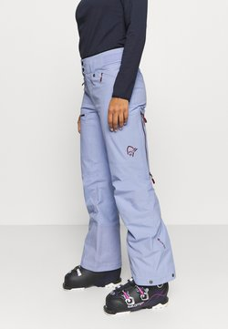 Norrøna - LOFOTEN GORE-TEX PANTS - Skibroek - light blue