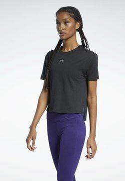 Reebok - SPEEDWICK GRAPHIC - T-Shirt print - black