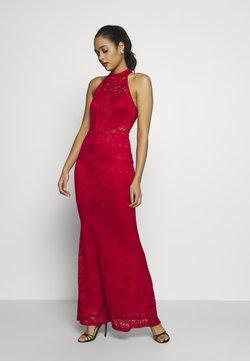 WAL G. - HALTER NECK MAXI DRESS - Suknia balowa - red