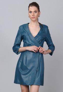 Basics and More - Sukienka letnia - oil blue