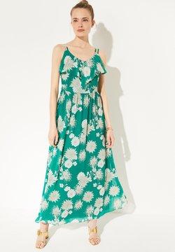 comma - Maxikleid - green big flowers