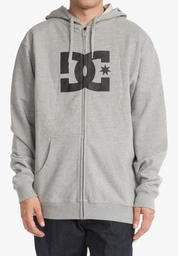DC Shoes - Sweater met rits - heather grey