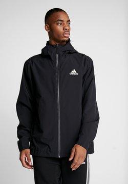 adidas Performance - 3-STRIPES RAIN.RDY - Regenjas - black