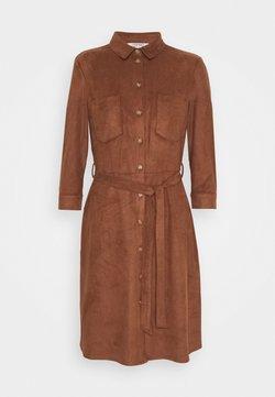 Esprit - DRESS - Freizeitkleid - brown