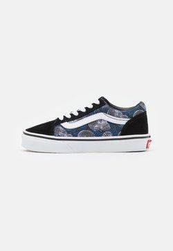 Vans - OLD SKOOL - Sneakersy niskie - black/white