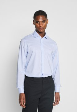 Tommy Hilfiger Tailored - MINI CHECK SLIM FIT - Camicia - light blue/white