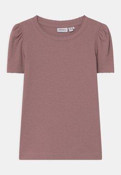 Name it - NMFKABEXI SLIM - T-shirt print - woodrose