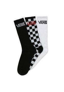 Vans - 3 PACK - Sokken - black-checkerboard