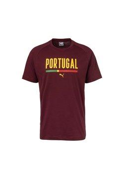 Puma - T-Shirt print - cordovan